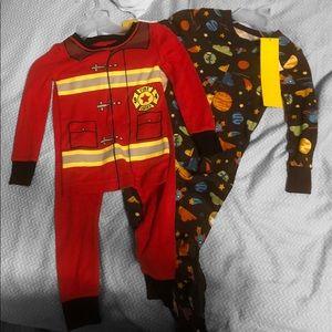A bundle: 2T Boys Pajamas